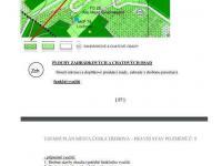 výňatek z územního plánu - Prodej pozemku 2778 m², Česká Třebová