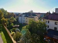 Výhled z balkónu (Prodej bytu 3+1 v družstevním vlastnictví 85 m², České Budějovice)