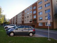 Přední strana domu (Prodej bytu 3+1 v družstevním vlastnictví 85 m², České Budějovice)