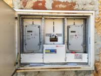 Skříň elektroměrů (Prodej domu v osobním vlastnictví 237 m², Všemyslice)