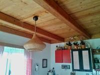 dřevěný strop - Prodej chaty / chalupy 34 m², Loučovice
