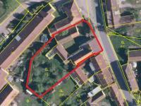 mapa - Prodej domu v osobním vlastnictví 228 m², Komařice