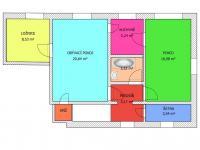 3+1 v patře - Prodej domu v osobním vlastnictví 228 m², Komařice