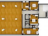 vizualizace 2. NP - Prodej obchodních prostor 816 m², Nový Bydžov