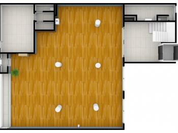vizualizace 1. NP - Prodej obchodních prostor 816 m², Nový Bydžov
