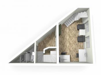 3D model 1NP - Prodej komerčního objektu 126 m², Česká Třebová