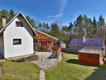 Chata, terasa + zahrada - Prodej chaty / chalupy 50 m², Lipno nad Vltavou