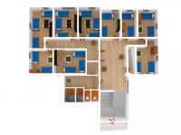 Vizualizace 2. NP - Prodej penzionu 191 m², Podbřezí