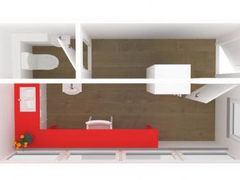 3D vizualizace - Prodej komerčního objektu 13 m², Lanškroun