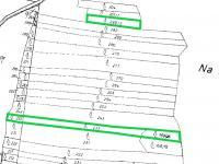 katastrální mapa - Prodej pozemku 9831 m², Drahonice