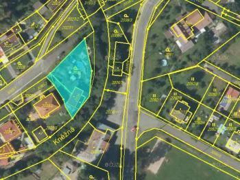 Vymezení pozemků dle KN - Prodej domu v osobním vlastnictví 147 m², Rychnov nad Kněžnou