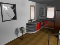 vizualizace možného budoucího řešení 1. NP - Prodej domu v osobním vlastnictví 147 m², Rychnov nad Kněžnou