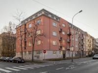 Pohled na dům - Prodej bytu 2+1 v osobním vlastnictví 82 m², Praha 3 - Žižkov