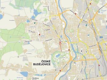 Pronájem obchodních prostor 173 m², České Budějovice