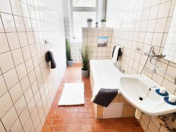 Prodej bytu 1+1 Lanškroun koupelna s wc - Prodej bytu 1+1 v osobním vlastnictví 35 m², Lanškroun