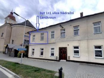 Prodej bytu 1+1 Lanškroun dům - Prodej bytu 1+1 v osobním vlastnictví 35 m², Lanškroun