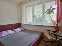 Obývací pokoj s ložnicí - Prodej bytu 3+1 v osobním vlastnictví 70 m², Borovany