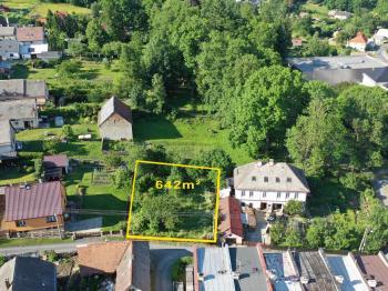 Prodej pozemku Moravský Beroun - Prodej pozemku 642 m², Moravský Beroun