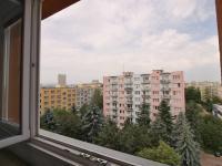 výhled z pokoje na západ - Prodej bytu 3+1 v osobním vlastnictví 66 m², České Budějovice
