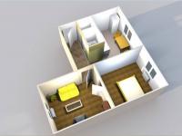 Pronájem bytu 2+1 v osobním vlastnictví 53 m², České Budějovice