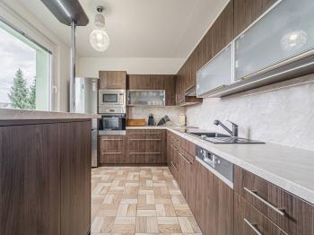 kuchyň - Prodej bytu 3+1 v osobním vlastnictví 74 m², Lanškroun