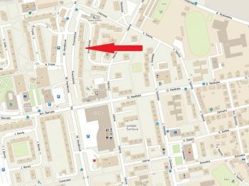 mapa - Prodej bytu 1+1 v družstevním vlastnictví 33 m², České Budějovice