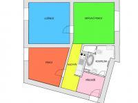 plánek - Prodej bytu 3+kk v osobním vlastnictví 74 m², České Budějovice