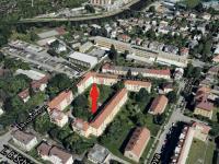 pohled vnitroblok - Prodej bytu 3+kk v osobním vlastnictví 74 m², České Budějovice