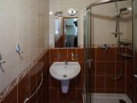 Koupelna - Prodej bytu 3+1 v osobním vlastnictví 66 m², České Budějovice