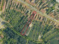 ortofoto mapa s katastrem - Prodej domu v osobním vlastnictví 424 m², Trhové Sviny