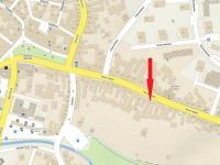 mapa - Prodej domu v osobním vlastnictví 424 m², Trhové Sviny