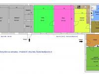 orientační půdorys rodinného domu - Prodej domu v osobním vlastnictví 123 m², České Budějovice