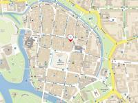 mapa lokality - Pronájem obchodních prostor 100 m², České Budějovice