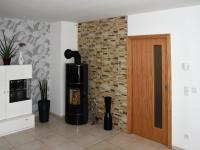 Obývací pokoj - Prodej domu v osobním vlastnictví 163 m², Kaplice