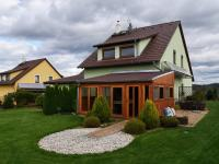 Zadní pohed - Prodej domu v osobním vlastnictví 163 m², Kaplice