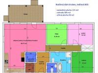 půdorys domu - Prodej domu v osobním vlastnictví 90 m², Srubec