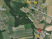 mapa - umístění - Prodej domu v osobním vlastnictví 90 m², Srubec