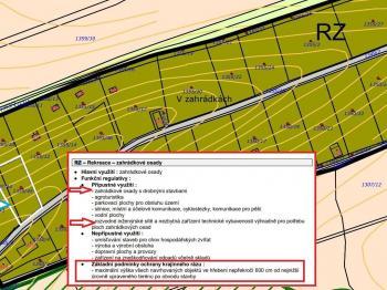 Prodej pozemku pro stavbu k rekreaci v obci Rybník u České Třebové - Prodej pozemku 928 m², Rybník