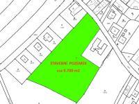 Katastrální mapa - Prodej pozemku 9700 m², Novosedly nad Nežárkou