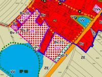 Územní plán - grafika - Prodej pozemku 9700 m², Novosedly nad Nežárkou