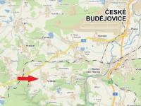 mapa - Prodej pozemku 835 m², Vrábče