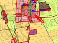 územní plán - Prodej pozemku 835 m², Vrábče