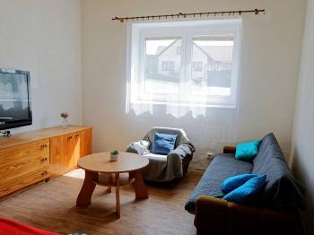 OBÝVACÍ POKOJ - Prodej domu v osobním vlastnictví 193 m², Popelín
