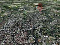 mapa - Pronájem bytu 3+kk v osobním vlastnictví 85 m², České Budějovice