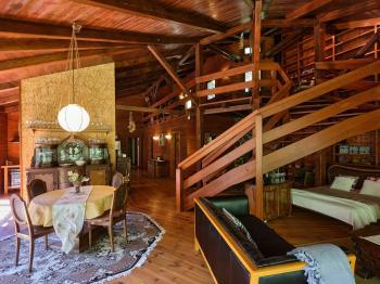 obývací prostor - Prodej domu v osobním vlastnictví 220 m², Mirkovice