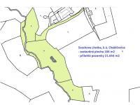 katastrální mapa - Prodej domu v osobním vlastnictví 220 m², Mirkovice