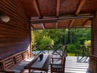 zastřešená terasa - Prodej domu v osobním vlastnictví 220 m², Mirkovice