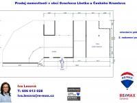 půdorys 2. podlaží - Prodej domu v osobním vlastnictví 220 m², Mirkovice