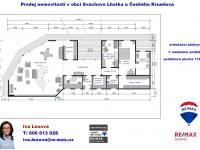 půdorys 1. podlaží - Prodej domu v osobním vlastnictví 220 m², Mirkovice