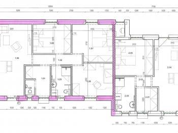 plánek - Pronájem domu v osobním vlastnictví 80 m², Srubec